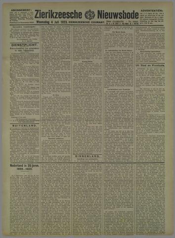 Zierikzeesche Nieuwsbode 1923-07-04