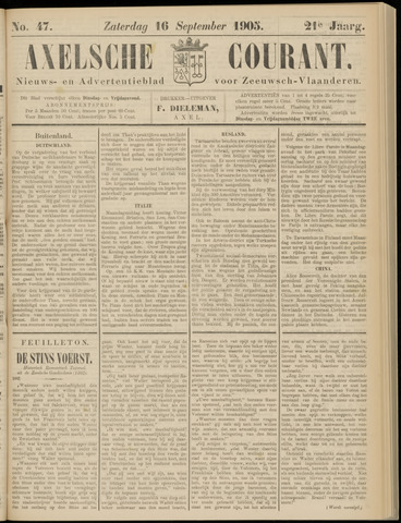Axelsche Courant 1905-09-16