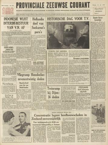 Provinciale Zeeuwse Courant 1962-07-24