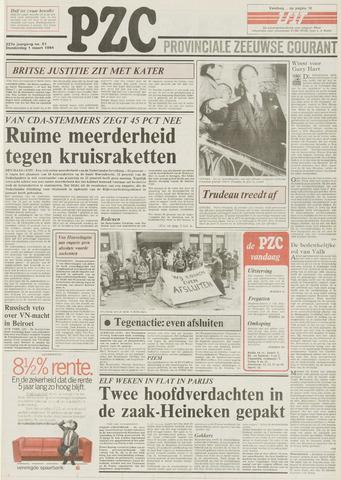 Provinciale Zeeuwse Courant 1984-03-01
