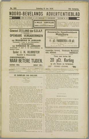Noord-Bevelands Nieuws- en advertentieblad 1929-01-12