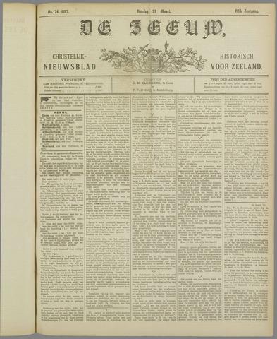 De Zeeuw. Christelijk-historisch nieuwsblad voor Zeeland 1897-03-23