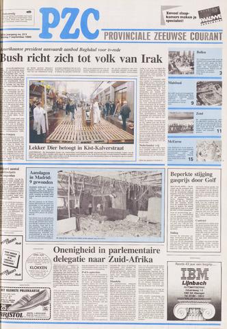 Provinciale Zeeuwse Courant 1990-09-07