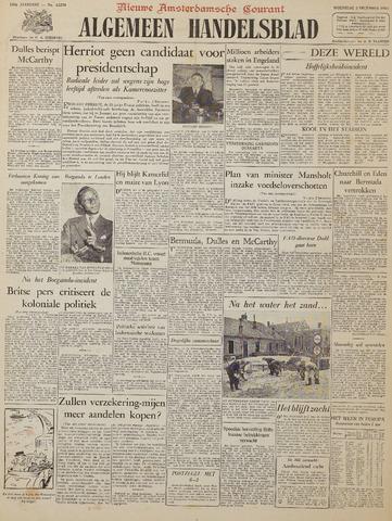 Watersnood documentatie 1953 - kranten 1953-12-02
