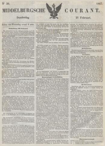 Middelburgsche Courant 1867-02-21