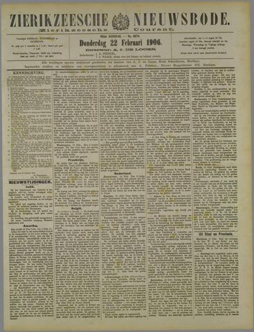 Zierikzeesche Nieuwsbode 1906-02-22