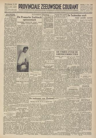 Provinciale Zeeuwse Courant 1946-11-05