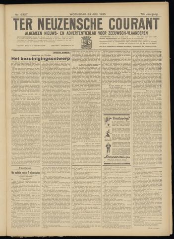 Ter Neuzensche Courant. Algemeen Nieuws- en Advertentieblad voor Zeeuwsch-Vlaanderen / Neuzensche Courant ... (idem) / (Algemeen) nieuws en advertentieblad voor Zeeuwsch-Vlaanderen 1935-07-24