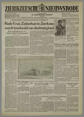 Zierikzeesche Nieuwsbode 1954-02-18