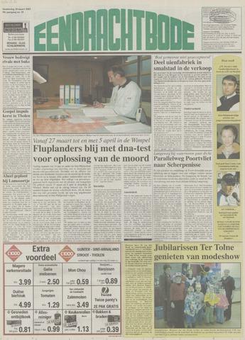 Eendrachtbode (1945-heden)/Mededeelingenblad voor het eiland Tholen (1944/45) 2003-03-20