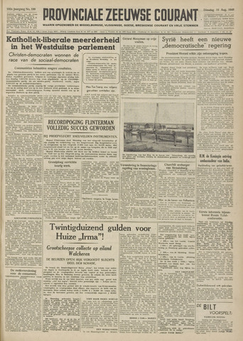 Provinciale Zeeuwse Courant 1949-08-16