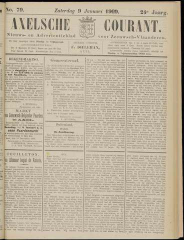 Axelsche Courant 1909-01-09
