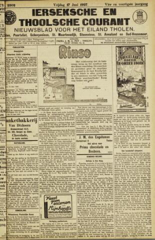 Ierseksche en Thoolsche Courant 1927-06-17