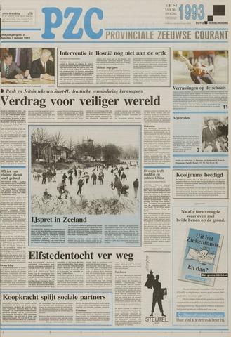 Provinciale Zeeuwse Courant 1993-01-04