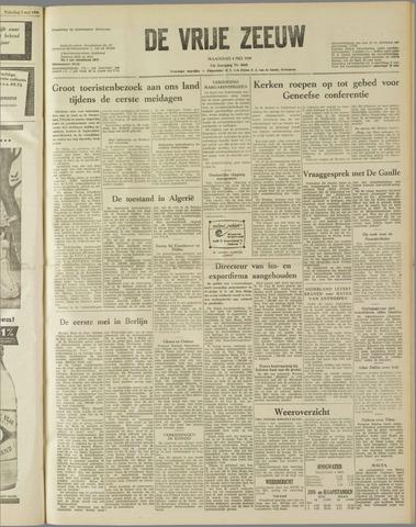 de Vrije Zeeuw 1959-05-04