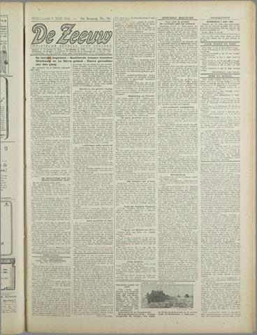 De Zeeuw. Christelijk-historisch nieuwsblad voor Zeeland 1944-06-07