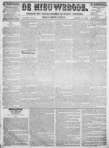 Sheboygan Nieuwsbode 1857-06-23