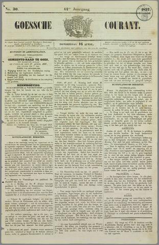 Goessche Courant 1857-04-16