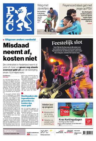 Provinciale Zeeuwse Courant 2016-09-19