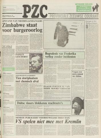 Provinciale Zeeuwse Courant 1981-02-13