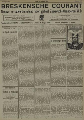 Breskensche Courant 1936-08-14