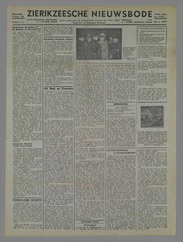Zierikzeesche Nieuwsbode 1944-02-09