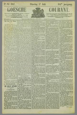 Goessche Courant 1917-07-17