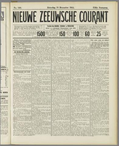 Nieuwe Zeeuwsche Courant 1915-12-18