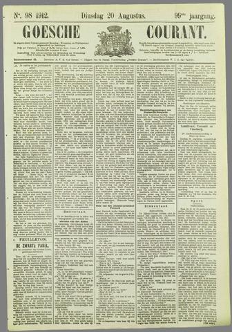 Goessche Courant 1912-08-20