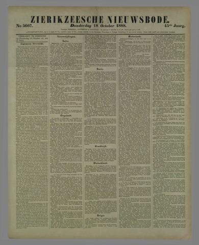 Zierikzeesche Nieuwsbode 1888-10-18
