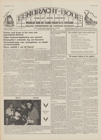 Eendrachtbode (1945-heden)/Mededeelingenblad voor het eiland Tholen (1944/45) 1969-08-21