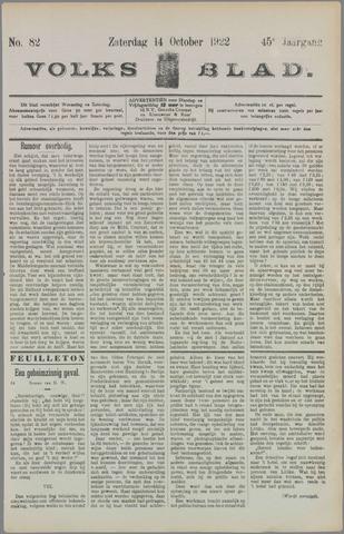Volksblad 1922-10-14