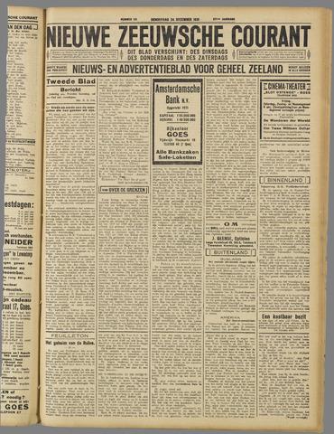Nieuwe Zeeuwsche Courant 1931-12-24