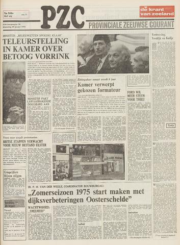Provinciale Zeeuwse Courant 1975-01-29