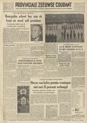 Provinciale Zeeuwse Courant 1957-07-26