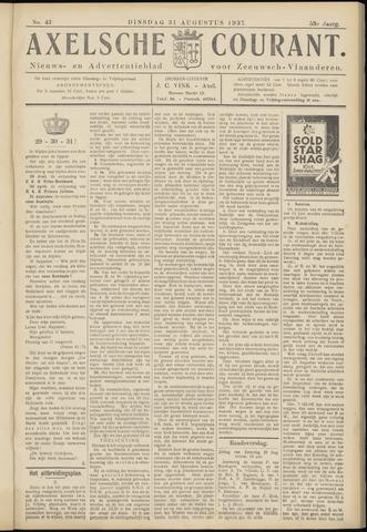 Axelsche Courant 1937-08-31
