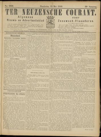 Ter Neuzensche Courant. Algemeen Nieuws- en Advertentieblad voor Zeeuwsch-Vlaanderen / Neuzensche Courant ... (idem) / (Algemeen) nieuws en advertentieblad voor Zeeuwsch-Vlaanderen 1910-05-19