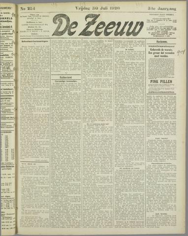De Zeeuw. Christelijk-historisch nieuwsblad voor Zeeland 1920-07-30