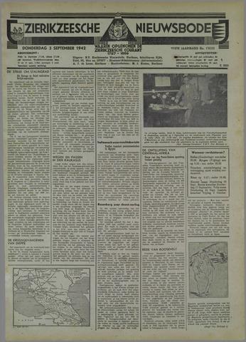 Zierikzeesche Nieuwsbode 1942-09-03