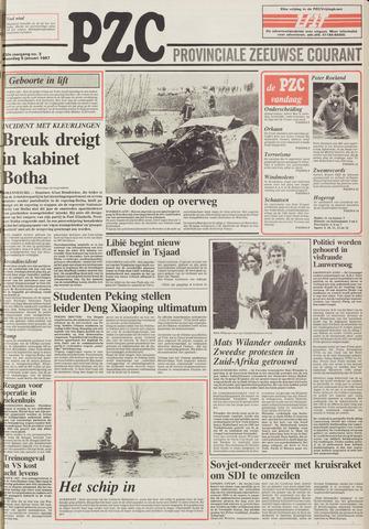 Provinciale Zeeuwse Courant 1987-01-05