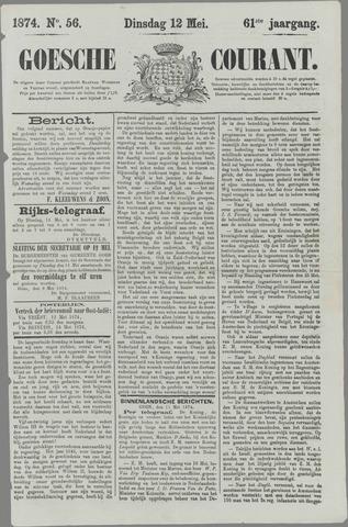 Goessche Courant 1874-05-12
