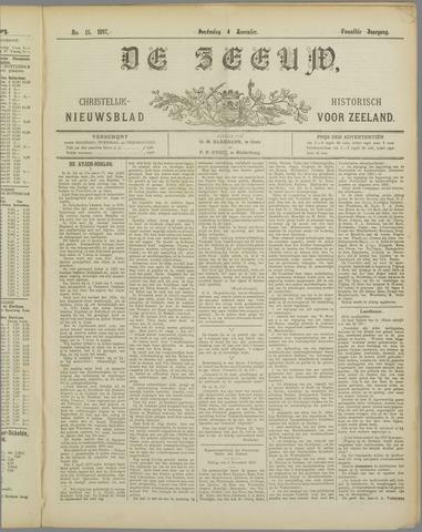 De Zeeuw. Christelijk-historisch nieuwsblad voor Zeeland 1897-11-04
