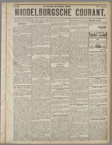 Middelburgsche Courant 1922-03-25
