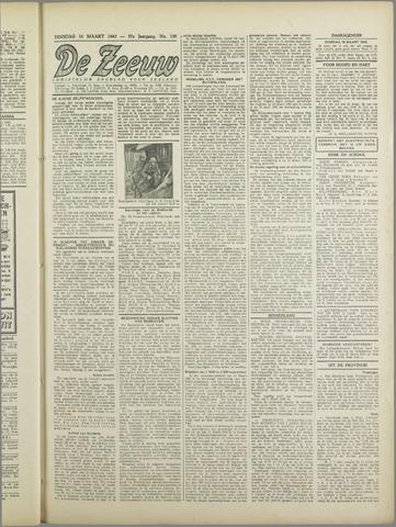 De Zeeuw. Christelijk-historisch nieuwsblad voor Zeeland 1943-03-16