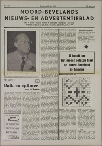 Noord-Bevelands Nieuws- en advertentieblad 1977-06-23