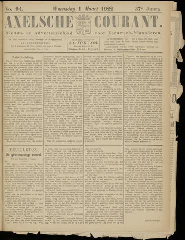 Axelsche Courant 1922-03-01