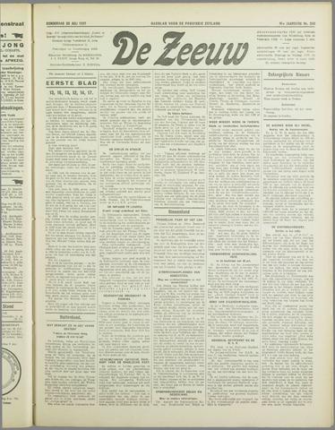 De Zeeuw. Christelijk-historisch nieuwsblad voor Zeeland 1937-07-22