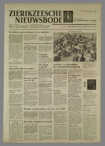 Zierikzeesche Nieuwsbode 1965-11-30