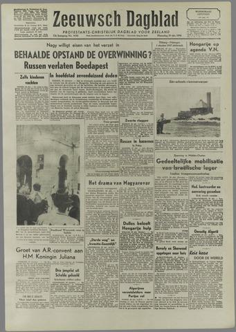 Zeeuwsch Dagblad 1956-10-29