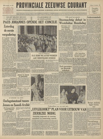 Provinciale Zeeuwse Courant 1962-10-12